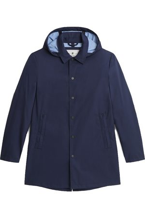 Woolrich Triple Layer Cotton Car Coat Melton