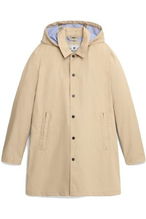 Woolrich Triple Layer Cotton Car Coat Feather