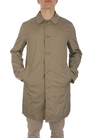 Aspesi MEN'S I236795485090 BEIGE POLYAMIDE TRENCH COAT