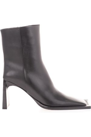 Balenciaga WOMEN'S 636632WB9801000 LEATHER ANKLE BOOTS