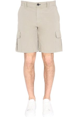 Paul Smith MEN'S M2R739UF2121774 BEIGE OTHER MATERIALS SHORTS