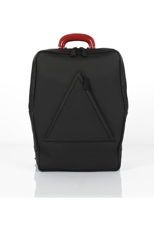 Barbican unisex leather backpack