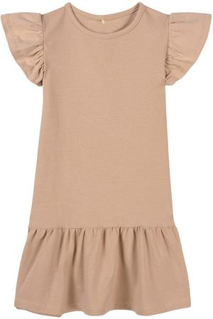 A Happy Brand Casual Dresses - Sand Ruffle Detail Dress - Girl - 86/92 cm - - Casual dresses