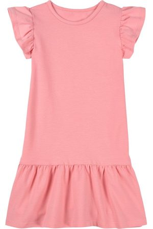 A Happy Brand Pink Ruffle Detail Dress - Girl - 86/92 cm - - Casual dresses