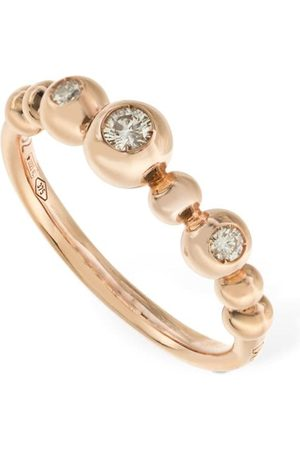 Dodo 9kt & Diamond Bollicine Ring
