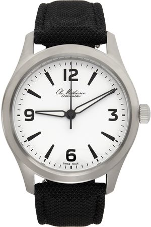 Ole Mathiesen Silver 1919 Sportivo Watch