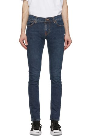 Nudie Jeans Navy Tight Terry Jeans