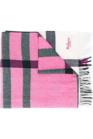 Mulberry Scarves - Oversized check long scarf