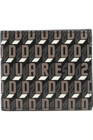 Dsquared2 Geometric-print wallet