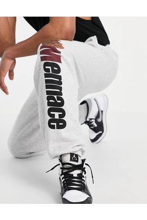 Mennace Joggers co-ord in with basketball print