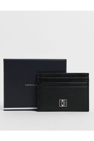 Tommy Hilfiger Leather monogram cardholder in