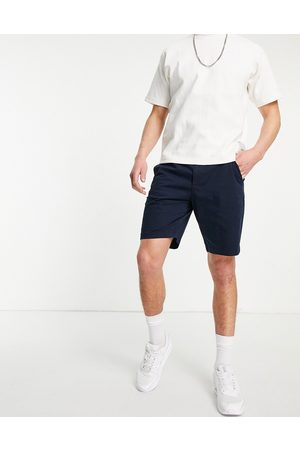 Hollister Men Chinos - Flat front chino shorts in