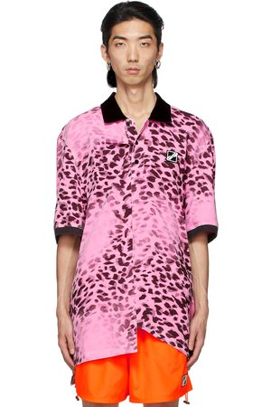 We11done Leopard All Over Polo