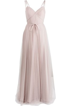 Marchesa Notte Bridesmaids Tuscany tulle strappy dress