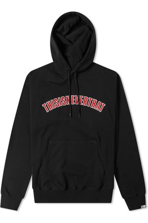 This Is Never That Men Hoodies - Arch Logo Popover Hoody