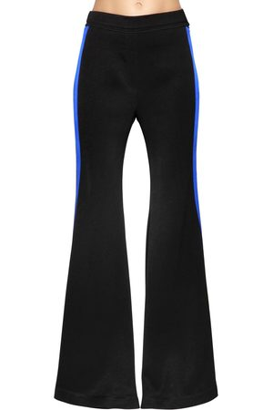 Ellery Flared Cady Pants W/ Side Bands