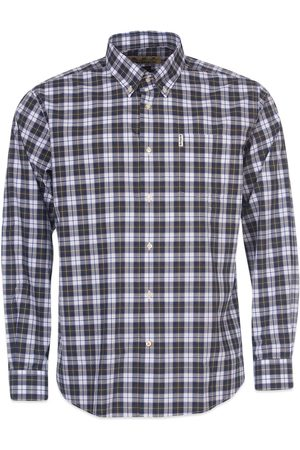 Barbour Highland Check 28 Tailored Shirt - Olive