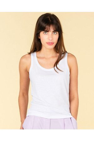 Absolut Cashmere Dauphine Sleeveless Top