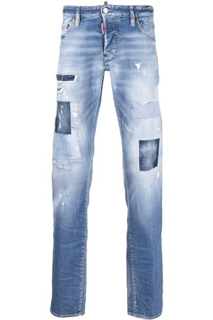 Dsquared2 Men Bootcut & Flares - Distressed stonewashed bootcut jeans