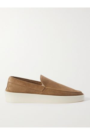 FEAR OF GOD Men Loafers - Reverse Suede Loafers