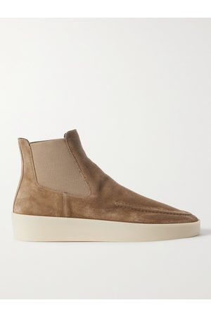 FEAR OF GOD Men Ankle Boots - Suede Chelsea Boots