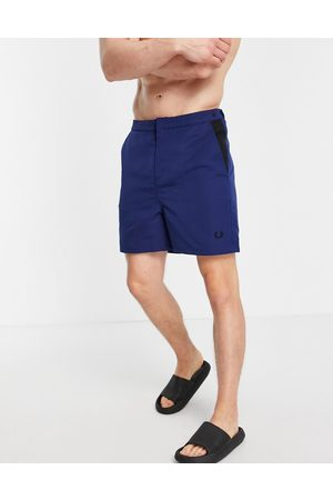 Fred Perry Men Swim Shorts - Contrast panel swim shorts in