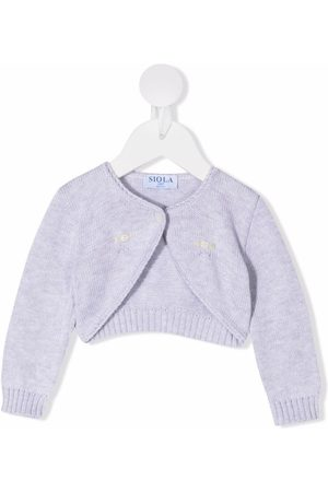 SIOLA Cardigans - Embroidered knitted cardigan