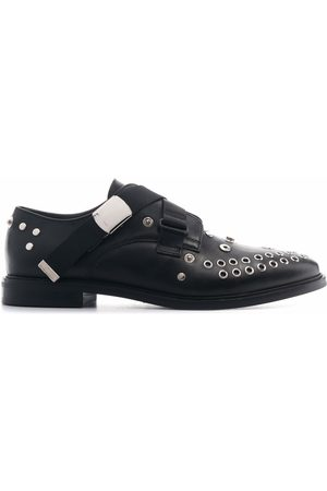 MCQ Skelter studded brogues