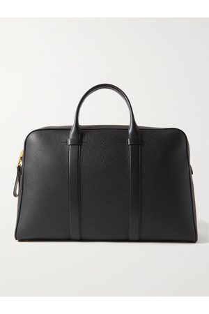 Tom Ford Men Laptop Bags - Full-Grain Leather Briefcase