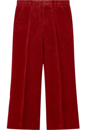 Gucci Kids - Velvet Flared Trousers - Boy - 6 years - - Trousers