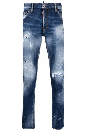 Dsquared2 Cool Guy distressed slim-cut jeans