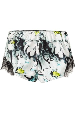 Sainted Sisters French knicker floral pattern shorts