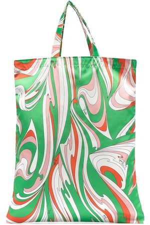 Emilio Pucci Abstract-print open-top tote bag