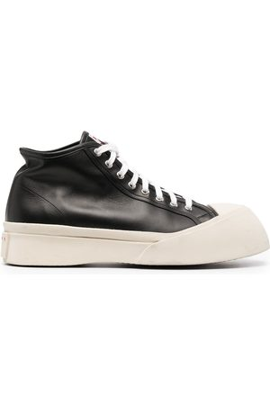 Marni Pablo leather high-top sneakers