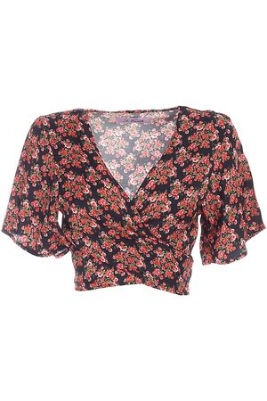MC2 SAINT BARTH ANGELINA CROPPED BLOUSE IN