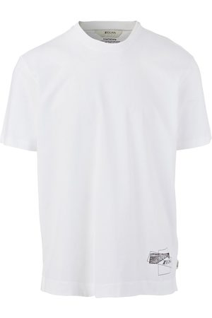 Z Zegna Recycled Cotton T-Shirt (White)