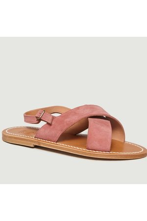 K jacques Osorno Sandals Velours Gilly