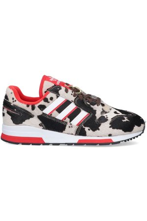 Adidas MEN'S FY3662 LEATHER SNEAKERS