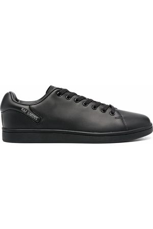 RAF SIMONS MEN'S HR760001S0003 LEATHER SNEAKERS