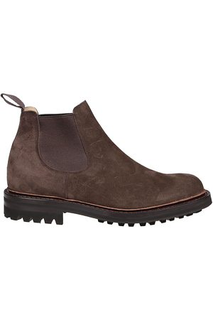 Church's MEN'S ETC2059VJF0AAD SUEDE ANKLE BOOTS