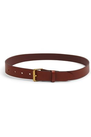 Burrows and Hare Burrows & Hare Bridle Leather Belt - Tan