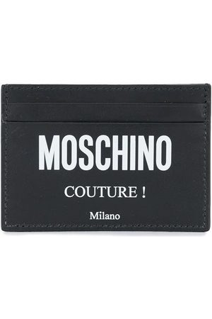 Moschino Men Wallets - MEN'S A810380012555 LEATHER CARD HOLDER