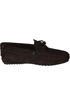 Tod's MEN'S XXM0LR00051RE0S800 SUEDE LOAFERS