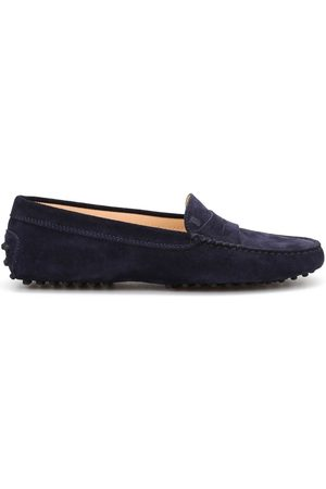 Tod's WOMEN'S XXW00G00010RE0U824 SUEDE LOAFERS