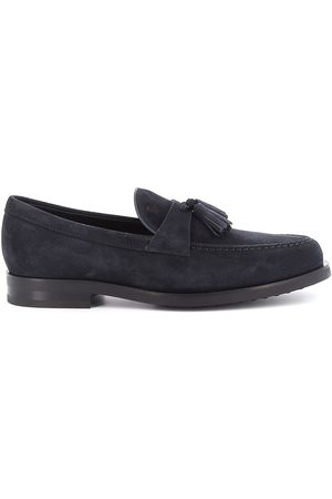 Tod's MEN'S XXM0ZF0AB90RE0U805 SUEDE LOAFERS