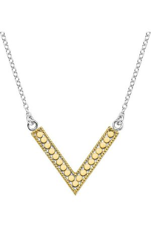 Anna Beck Necklaces - V Reversible Necklace and Silver