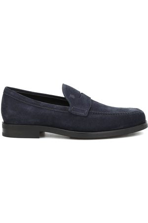 Tod's MEN'S XXM0ZF0Q920RE0U805 SUEDE LOAFERS