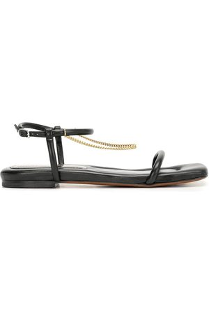 Proenza Schouler Square-toe padded leather sandals