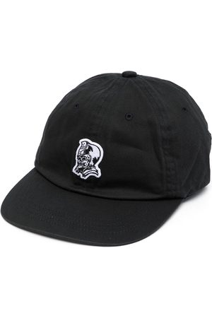 A Bathing Ape Skull-embroidered cap