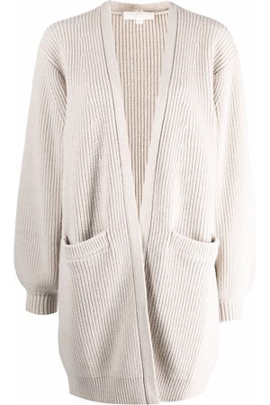 Michael Kors Women Cardigans - Ribbed knitted cardigan